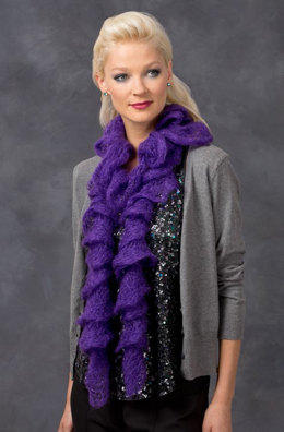 Madame Scarf in Red Heart US - LW3295 - Downloadable PDF