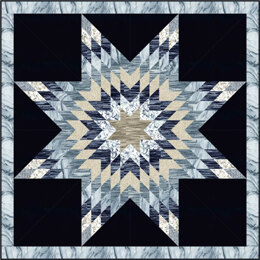 Michael Miller Fabrics Celestial Star Quilt - Downloadable PDF
