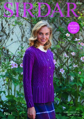 e4bddafe88df Cardigan in Sirdar No.1 - 8046 - Downloadable PDF