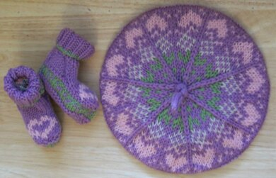 Kirsty's Cap and Cuddly Booties