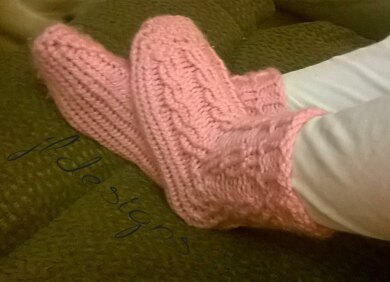 Comfy Cable Slipper Socks