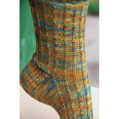 Autumn Moon Socks