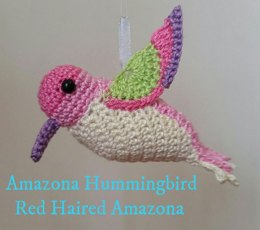 Amigurumi Bird: Pearly Hummingbird