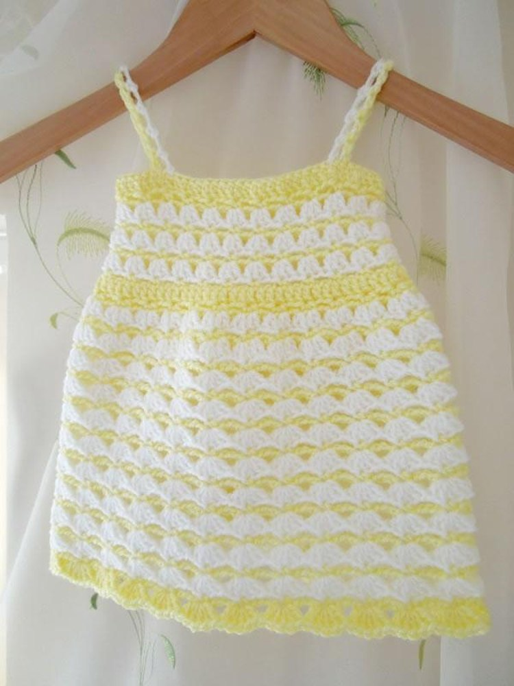 Parquet Spring Dress Crochet Pattern By Happyberry Crochet