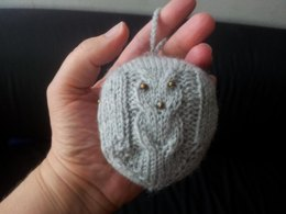 Christmas Ornament 3: Owl