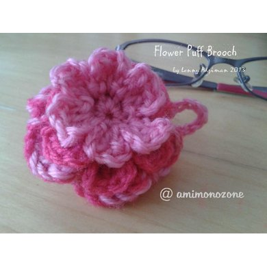 Flower Puff Brooch