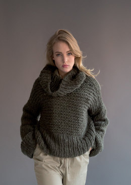 48294ba109d Sweater and Snood in Rico Fashion Big Mohair Super Chunky - 375 -  Downloadable PDF
