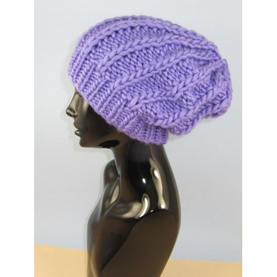 Super Chunky Fishermans Rib Slouch Hat