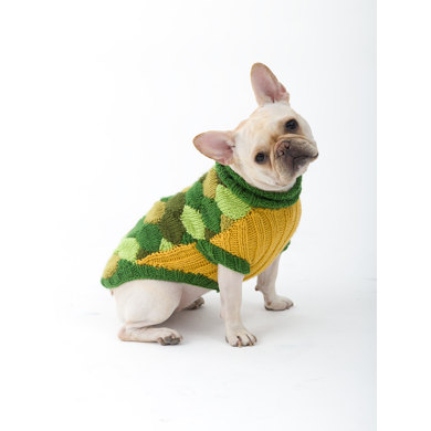 Turtle Dog Costume in Lion Brand Vanna's Choice - L32127