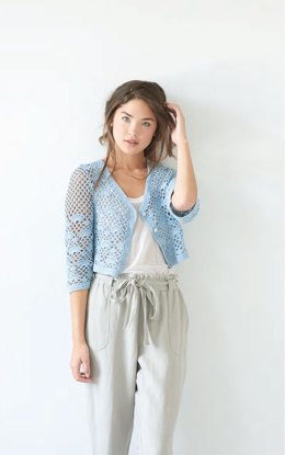 Tucker Cardigan in Berroco Corsica - Downloadable PDF