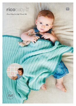 Baby Blankets in Rico Baby So Soft DK & Baby So Soft Print DK - 846 - Downloadable PDF