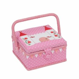Hobby Gift Fantasy Castle Sewing Box