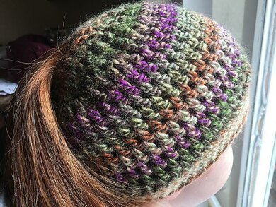 Seamless Ponytail Hat