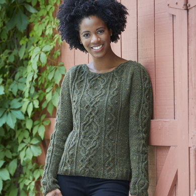 Epazote Pullover in Valley Yarns Taconic - DS027 - Downloadable PDF
