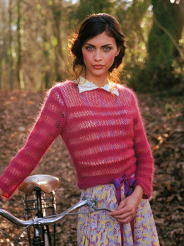 Aimee Sweater in Rowan Kidsilk Haze