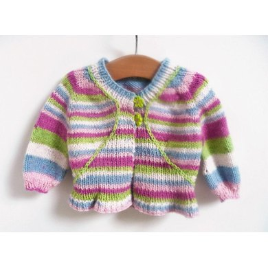 Candy Top Down Cardigan