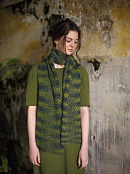 Falcon Scarf in Rowan Fine Art