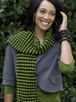 Sparks Fly Scarf in Caron Simply Soft and Simply Soft Party - Downloadable PDF