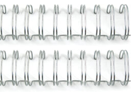 """We R Memory Keepers Cinch Wires .75"""" 2/Pkg - Silver"""