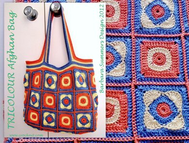 TRICOLOUR Afghan Bag UK