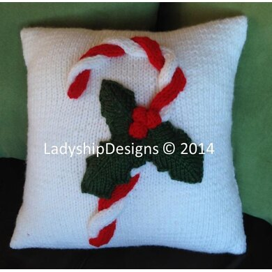 Candy Cane Cushion