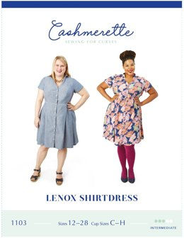Cashmerette Lenox Shirtdress 1103 - Sewing Pattern
