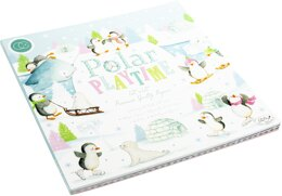 """Craft Consortium Double-Sided Paper Pad 12""""X12"""" 40/Pkg - Polar Playtime"""