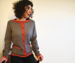 Get the Look Jacket in UK Alpaca Super Fine DK - Downloadable PDF