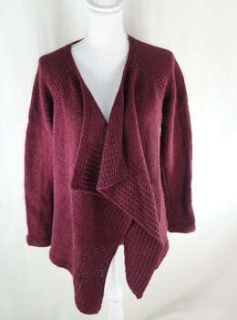 Vineyard Stroll Cardigan in Cascade Yarns Friday Harbor - W750 - Downloadable PDF