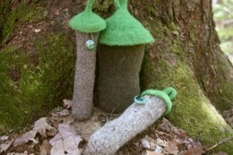 Fairy House in the Woods