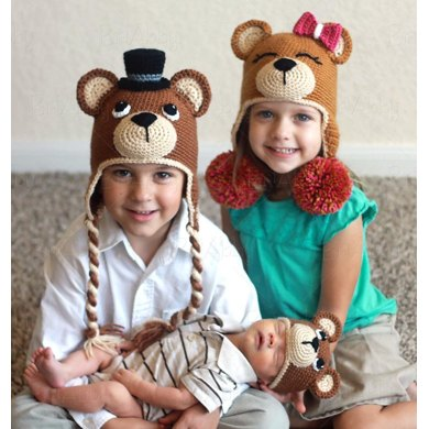 how to make a hat for a teddy bear