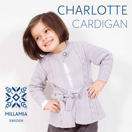 Charlotte Cardigan in MillaMia Naturally Soft Merino - Downloadable PDF