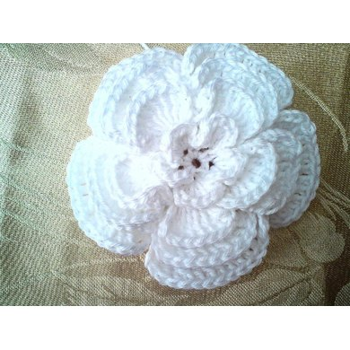 4 Layer Big Crochet flower with open centre
