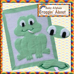 Animal Baby Blanket - Froggin' About