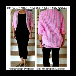 1165 - SUMMER Cocoon Shrug