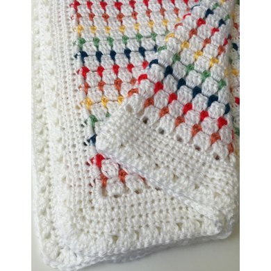 Block Stitch Baby Blanket Crochet Pattern By Deborah Oleary