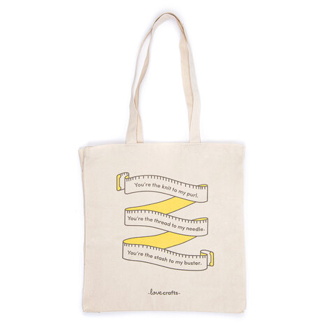 LoveCrafts Tote Bag