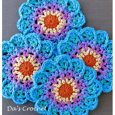 Burst of Color Coasters