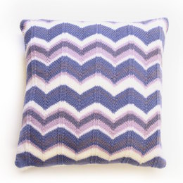 Tivoli Cushion Cover in MillaMia Naturally Soft Merino - Downloadable PDF