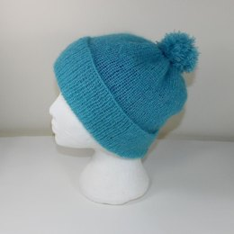 Party Angel Bobble Beanie Hat