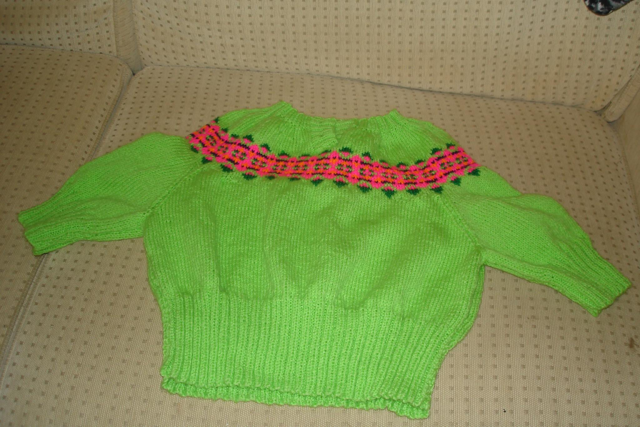 how to craft ladders early 70 s fit jumper with fairisle yoke knitting 4716