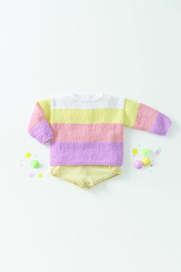 Xana Sweater in Phildar Phil Baby Doll - Downloadable PDF