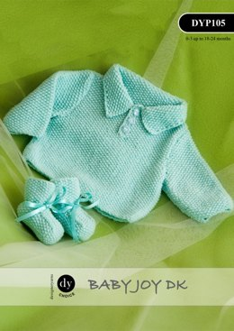 Top & Bootees in DY Choice Baby Joy DK - DYP105