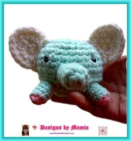 Crochet Elephant Pattern Amigurumi Animal