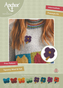 Anchor Dee Hardwicke Flower Freestyle Kit