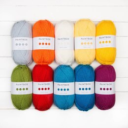 Paintbox Yarns Simply Aran 10er Farbset
