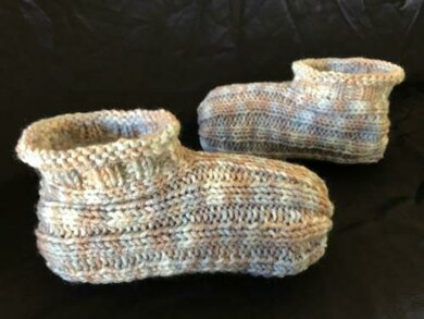 Adult Bootie Slippers