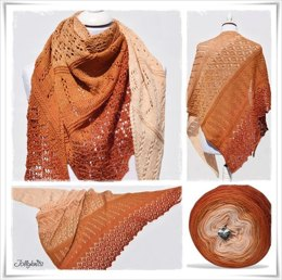 Lace Shawl Indian Summer