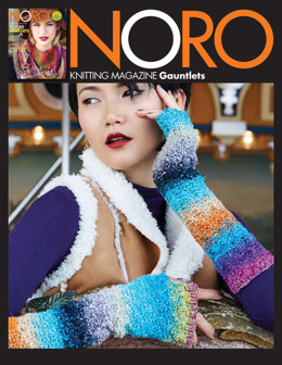 Gauntlets Mittens in Noro Janome - 13 - Downloadable PDF