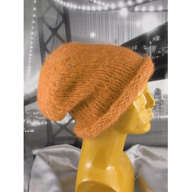 Simple Superfast Super Furry Slouch Hat Circular.